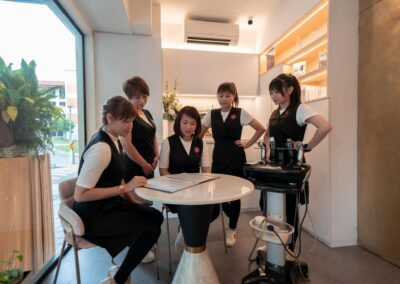 Learning and updating of knowledge and skills is important at Casa beauty Tampines