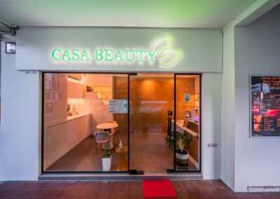 Casa Beauty Tampines is open Daily from 11am to 8pm