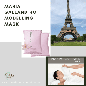 Maria Galland Hot Modelling Mask by Casa Beauty Tampines