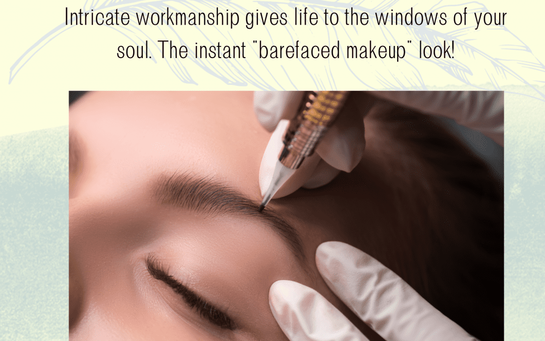 Why Is eyebrow embroidery essential when working from home?